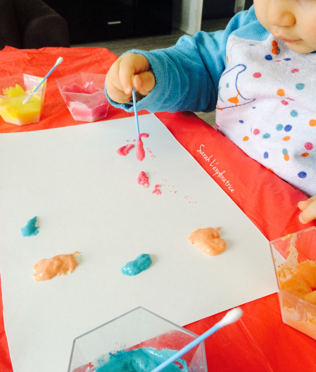 Puff peint : la peinture qui gonfle - SARAH L EXPLORATRICE