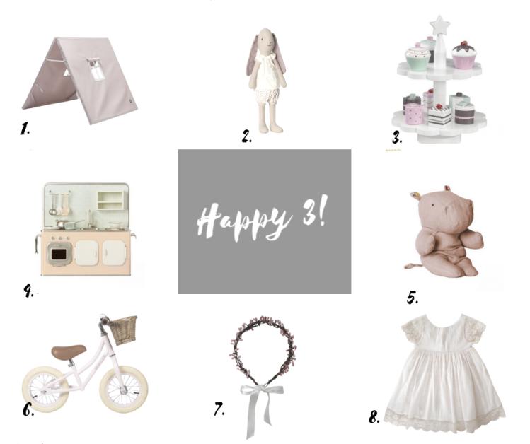 Idee Cadeau Petite Fille 3 Ans.3 Ans Des Idees Cadeaux Sarah L Exploratrice